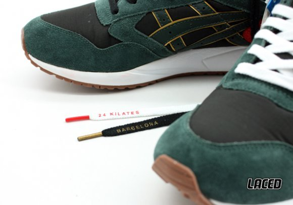 24 Kilates x ASICS Gel Saga - Detailed Look