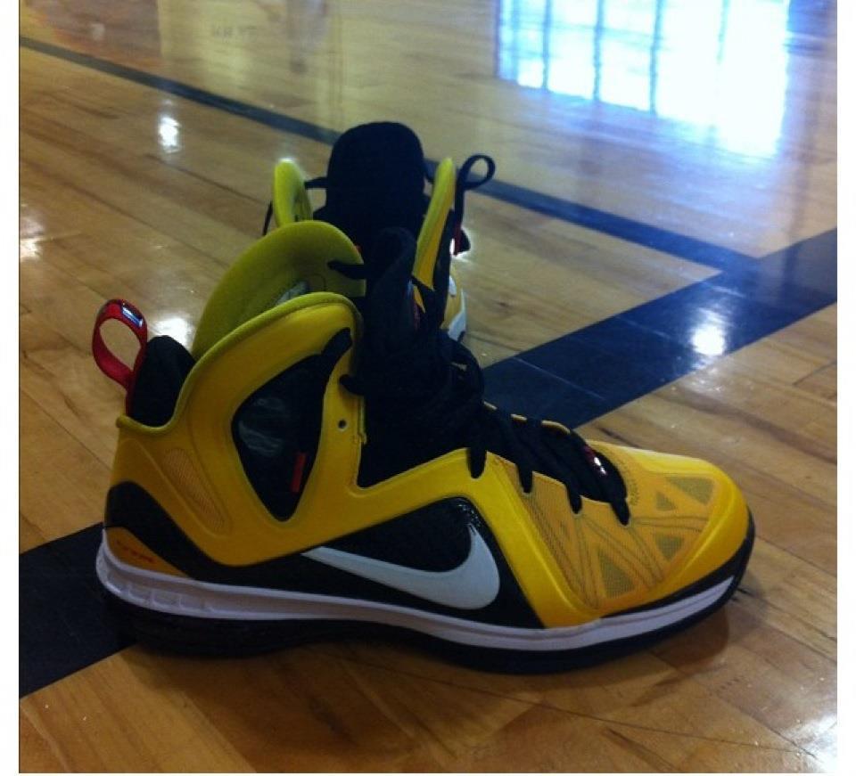 Nike LeBron 9 Elite 'Varsity Maize' - New Image