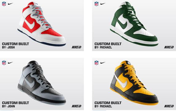 NFL x Nike Dunk High iD