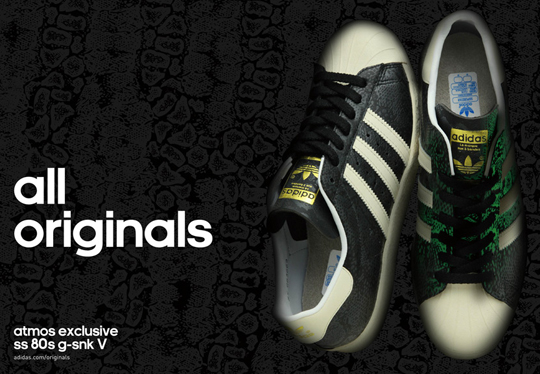 atmos x adidas Originals Superstar 80s G-SNK5