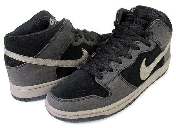 premium selection caa8a 21eb5 ... netherlands nike sb dunk mid black iron 3a521 5bf6d