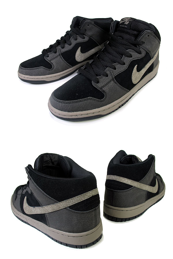 Nike SB Dunk Mid 'Black/Iron'
