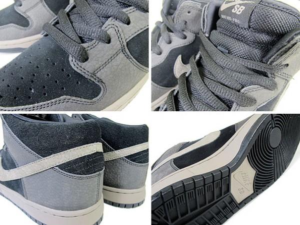 Nike SB Dunk Mid 'Black/Iron'