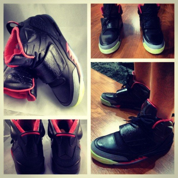 Jordan 'Son of Yeezy' Customs by Mache Custom Kicks