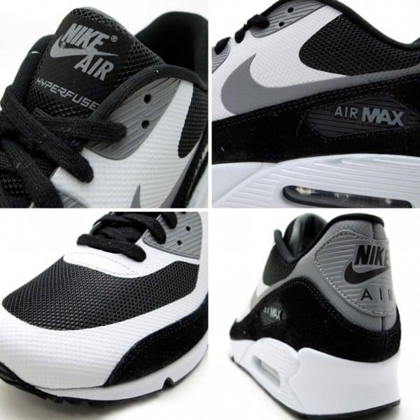 Nike Air Max 90 Hyperfuse PRM 'Black/Grey'