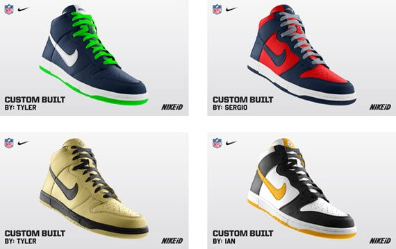 NFL x Nike Dunk High iD