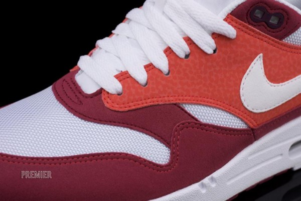 nike air max 1 legacy red - white - orange