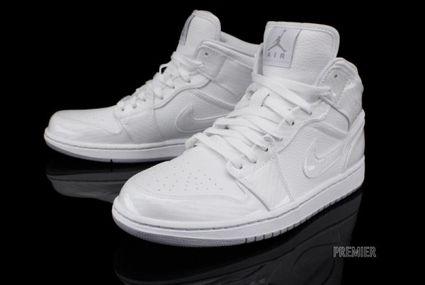 Air Jordan 1 Phat 'White/Wolf Grey'