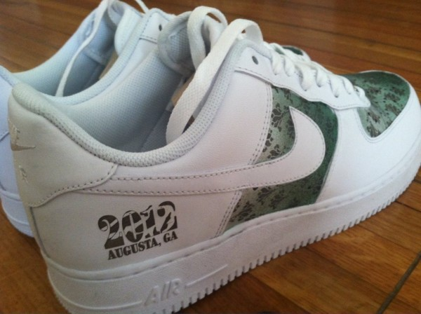 Nike Air Force 1 Low 2012 Masters Tiger Woods PE