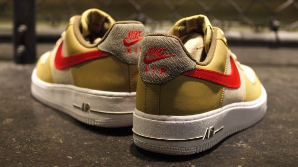 Nike Air Force 1 Low 'Beige/Red'