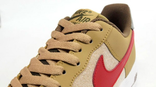 Nike Air Force 1 Low 'Beige/Red' - Another Look