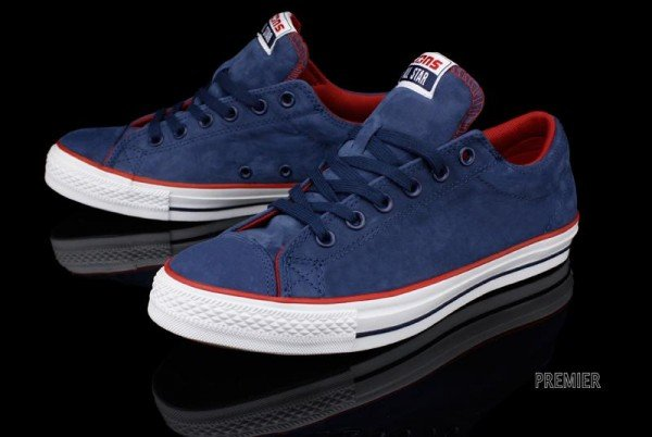 Converse Cts Ox Blue Red Sneakerfiles