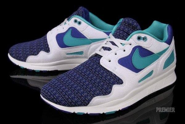 Nike Air Flow 'Storm Blue/New Green-Summit White' - Now Available at Premier
