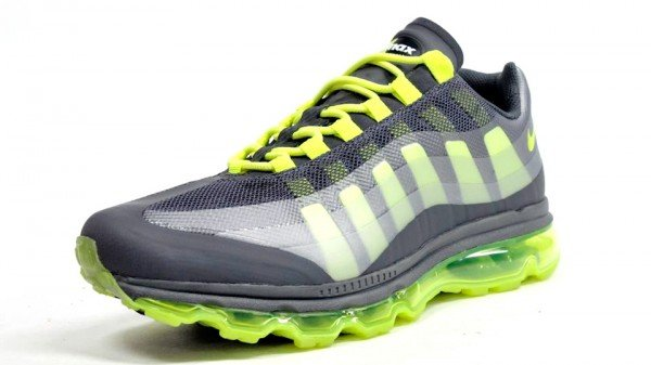 Nike Air Max 95+ BB 'Dark Grey/Wolf Grey-Anthracite-Volt' - Another Look
