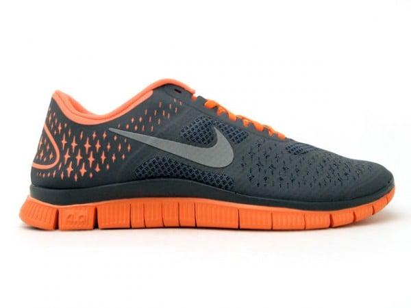 Nike Free 4.0 V2 'Dark Grey/Orange'