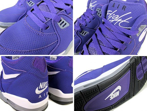 Nike Air Flight 89 'Club Purple' HoH Exclusive
