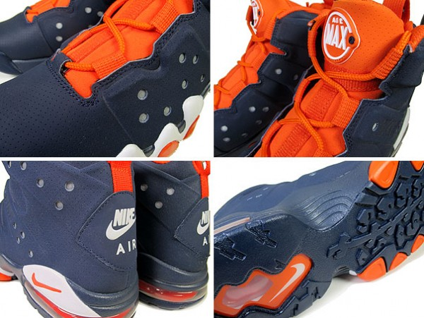 Nike Air Max Barkley 'Obsidian/Team Orange-White' HoH Exclusive