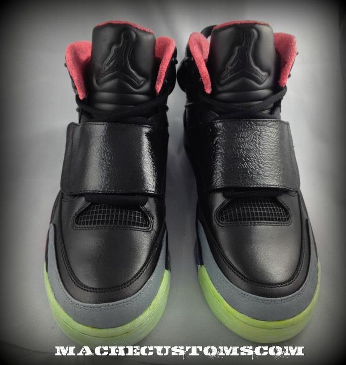 8a7e8974811 Jordan  Son of Yeezy  Customs by Mache Custom Kicks - Detailed Images