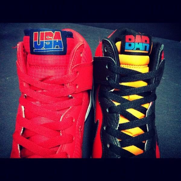 Nike Dunk High USA Basketball Pack