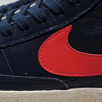 Nike Blazer Hi VNTG 'Navy/Solar Red' - size? Exclusive