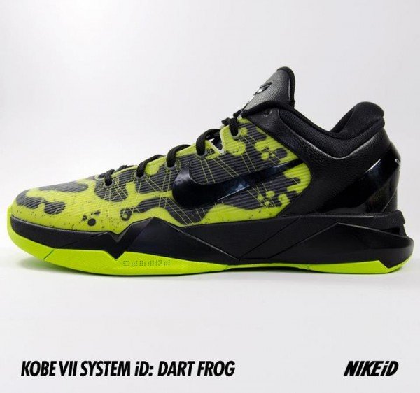 Nike Kobe 7 'Poison Dart Frog' Option Now Available on NikeiD