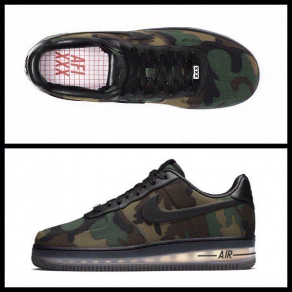 Nike Air Force 1 Low Max Air VT QS 'Camouflage' - Release Date + Info