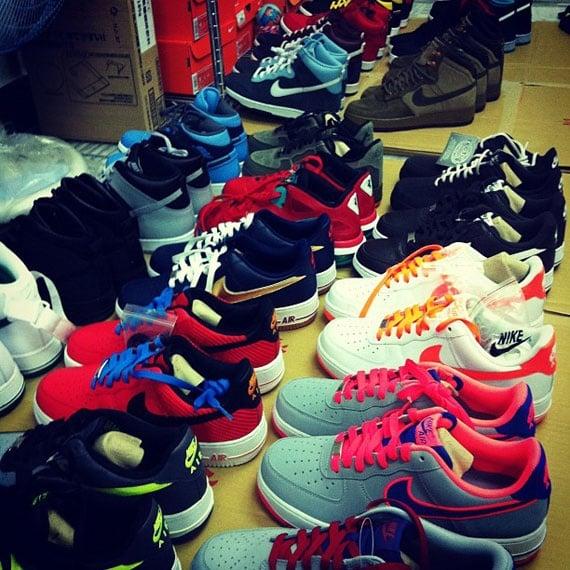 Nike Air Force 1 2012 Samples