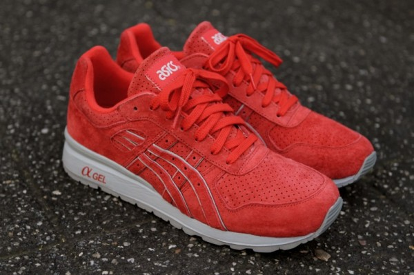 Release Reminder: Ronnie Fieg x ASICS GT-II 'Super Red 2.0'