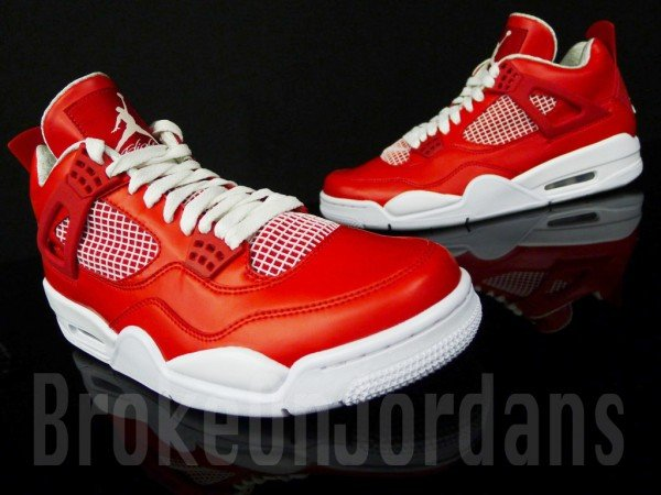 Air Jordan 4 'Red/White' Sample