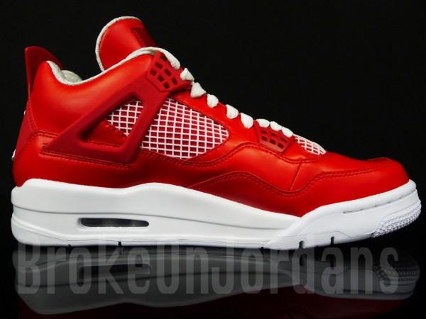 Air Jordan 4 'Red/White' Sample