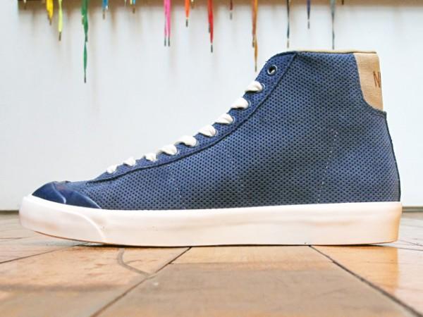 Nike Blazer Mid AB 'Midnight Navy/Khaki-Sail'