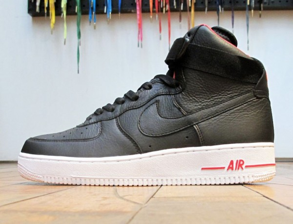 Nike Air Force 1 High Premium 'Black' - Release Date + Info