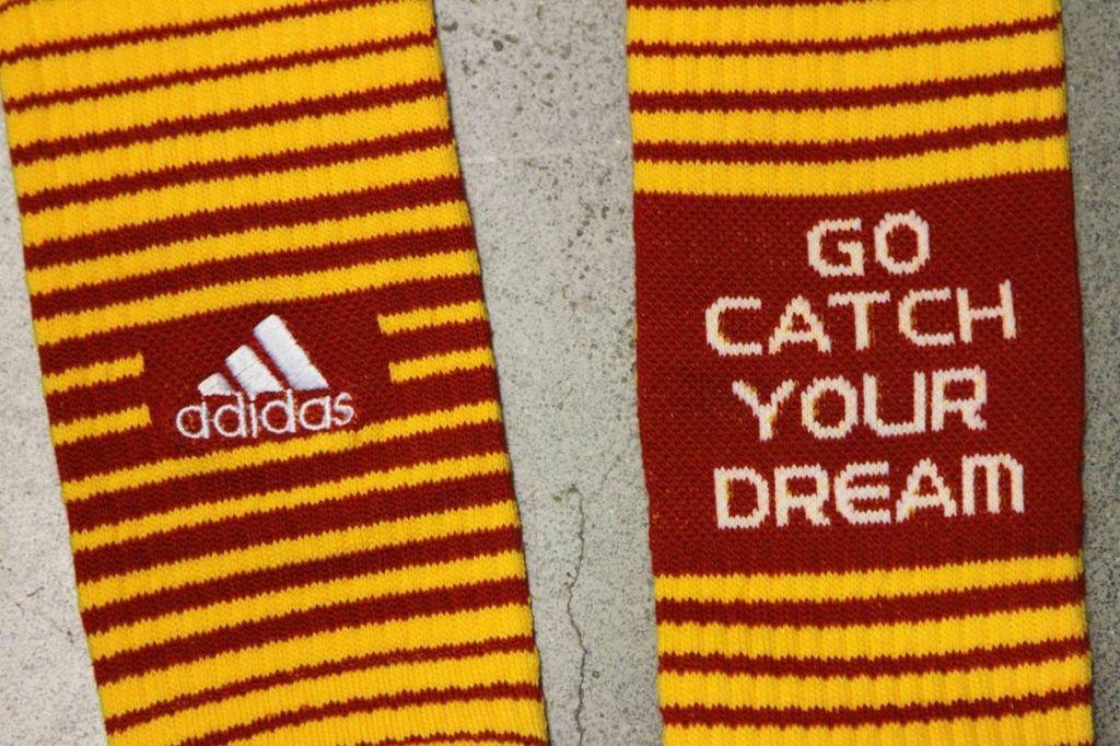 RGIII's adidas Draft Day Socks
