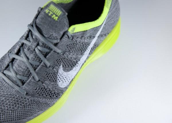 Nike HTM Flyknit Trainer+ 'Grey/Volt'