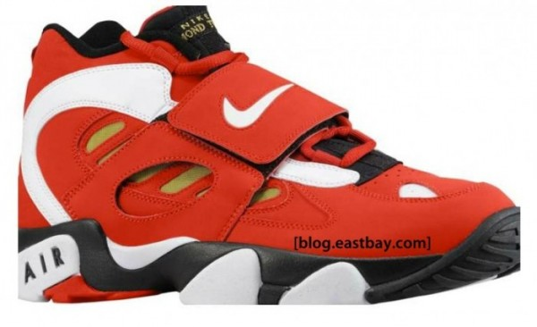 Nike Air Diamond Turf II 'Varsity Red/White-Metallic Gold' Restock at Eastbay