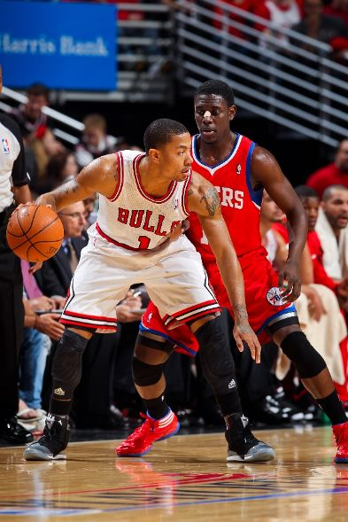 Derrick Rose in the 'Playoffs' adiZero Rose 2.5