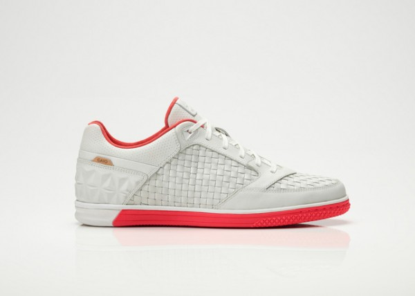 Nike Woven Street Gato 'Summit White/Solar Red'