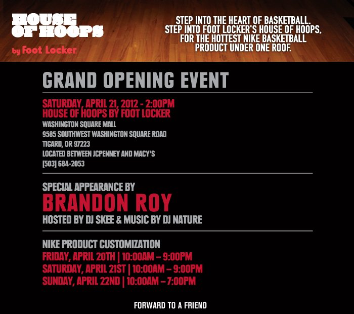 House of Hoops Grand Opening in Oregon
