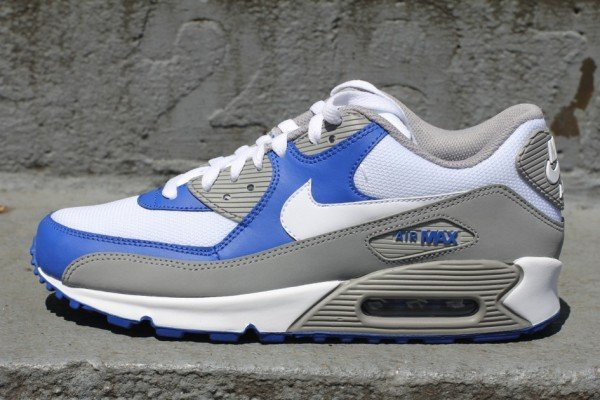 Nike Air Max 90 'Medium Grey/Varsity Royal'