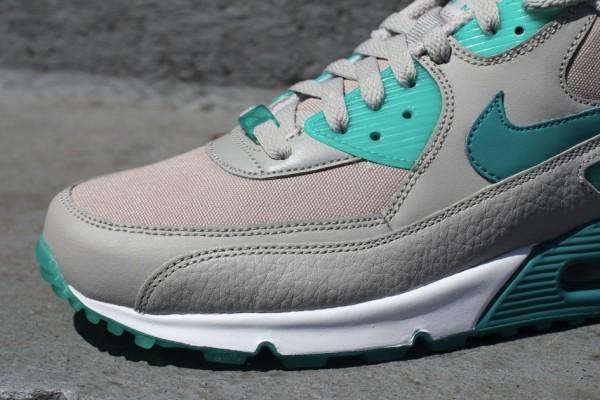 Nike Air Max 90 'Granite/Lush Teal-New Green'