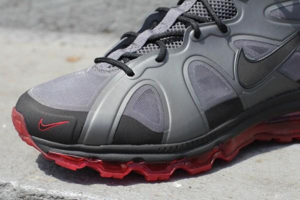 Nike Air Max Griffey Fury 'Dark Grey/Black-University Red-Black' - Another Look