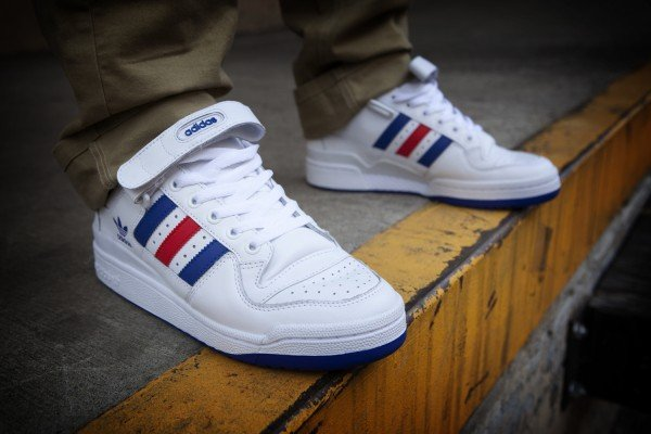quality design 38a69 a1aa0 adidas Originals Forum Lo RS Leather - Now Available
