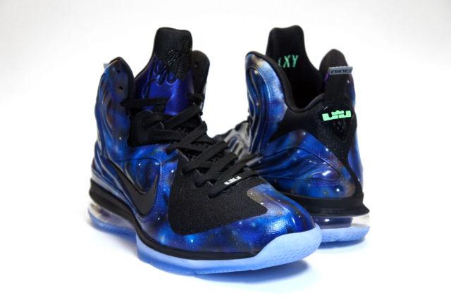 low priced 53f24 f191e Nike LeBron 9 Foamposite  Galaxy  Customs by C2 Customs