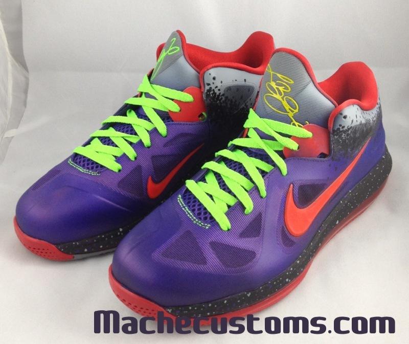 Nike LeBron 9 Low 'Nerf' by Mache Custom Kicks