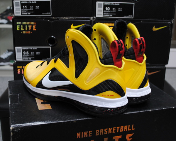 Nike LeBron 9 P.S. Elite 'Varsity Maize' - Available Early