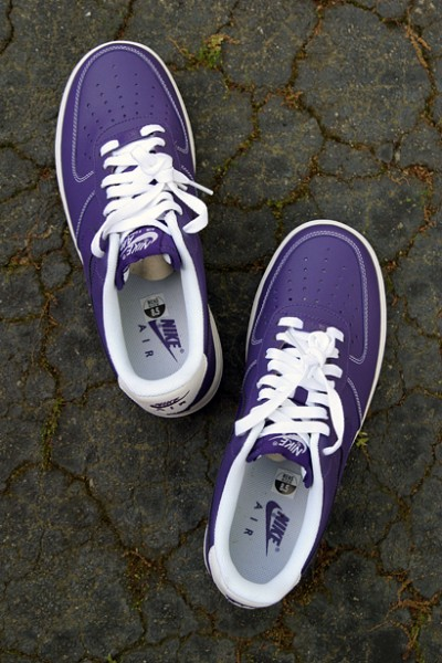 Release Reminder: Nike Air Force 1 Low 'Court Purple'