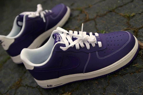 premium selection d74a6 a8fa2 Release Reminder: Nike Air Force 1 Low 'Court Purple ...