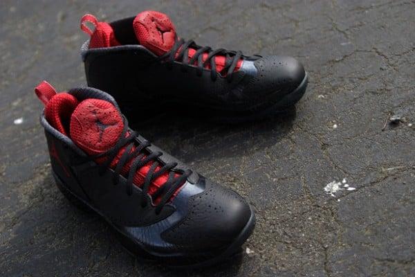 quality design 3d047 326da Release Reminder  Air Jordan 2012 A  Black Varsity Red-Anthracite