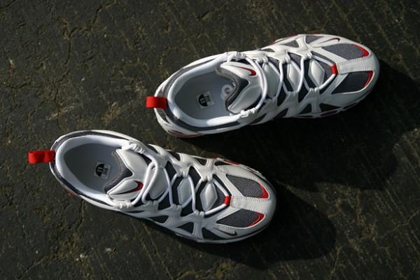 Nike Air Max Tailwind 96-12 'White/Dark Grey-Sport Red'