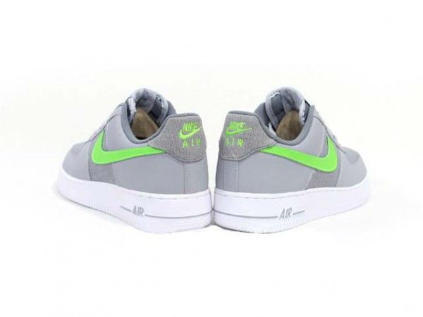 Nike Air Force 1 Low 'Grey/Fluorescent Green'